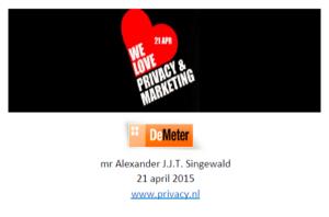 Presentatie Alexander Singewald